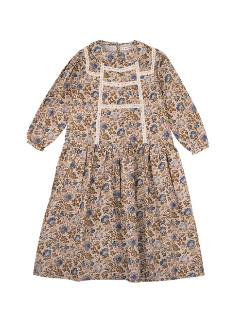 [30%]LUISA DRESS - VINTAGE FLOWER