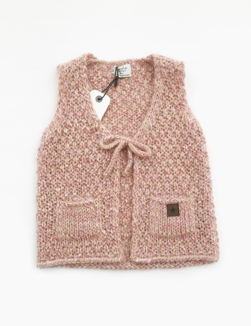 [70%]KNITTED VEST