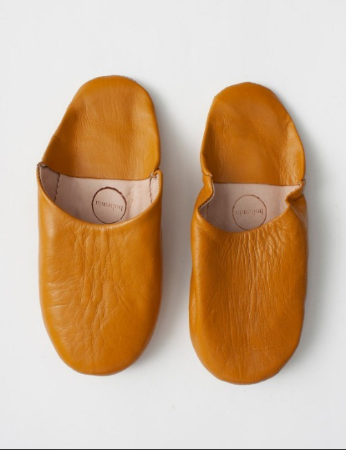 MOROCCAN BASIC SLIPPERSOCHRE