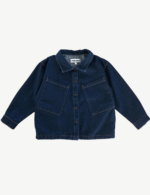 [40%]Dark Denim Artiste Jacket