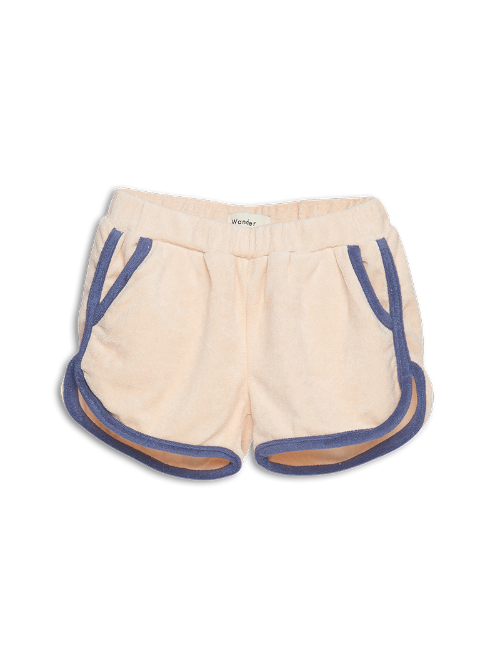 Terry Shorts-Ecru