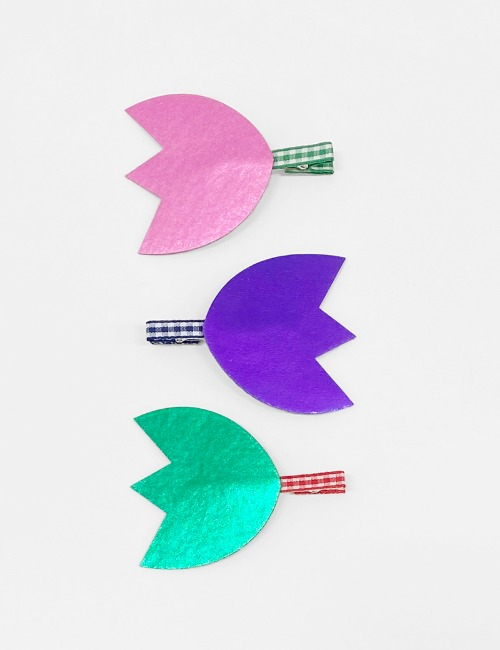 Tulip Hairclip3color