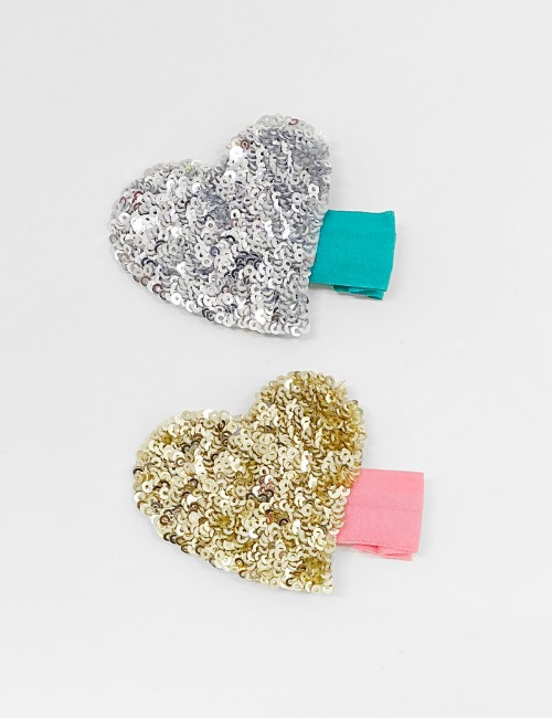 Heart Hairclip2color