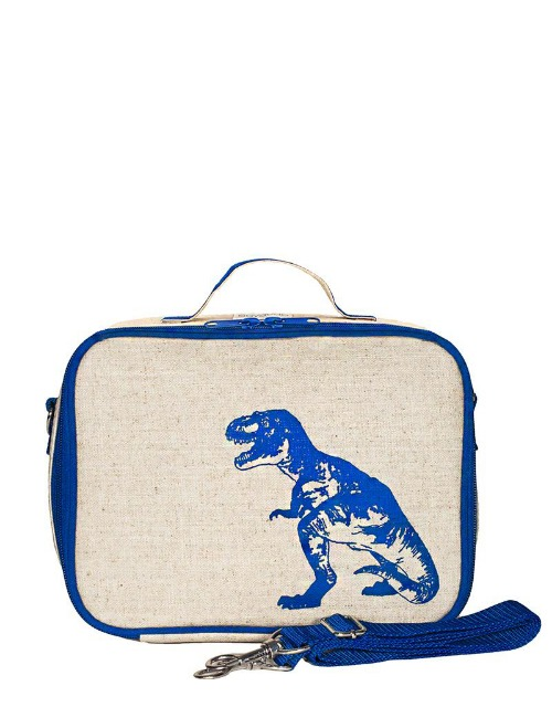 BLUE DINOSAUR LUNCH BOX
