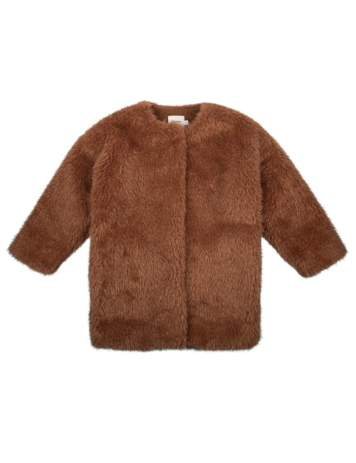 FUR COAT - CARAMEL