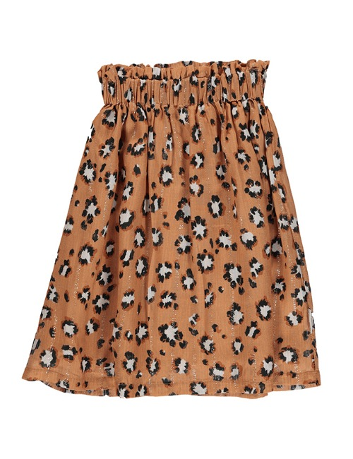 Long skirt | Caramel