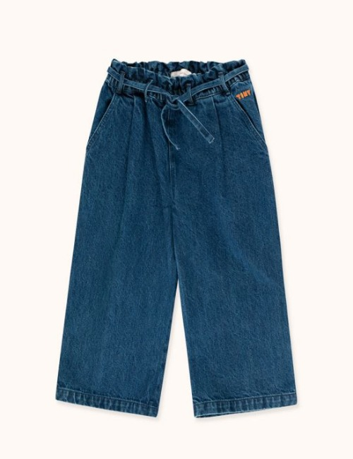 DENIM WIDE PANT