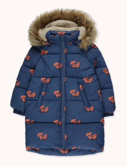 """FOXES"" PADDED JACKET"