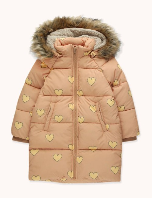 """HEARTS"" PADDED JACKET"