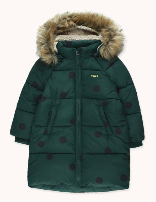 """BIG DOTS"" PADDED JACKET"