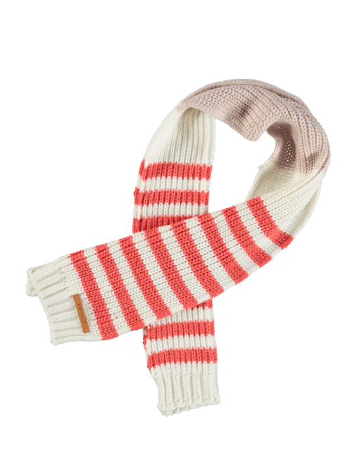 Knitted scarf - Pale pink