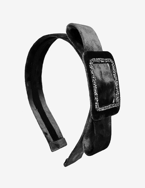 Belt Hairband-black